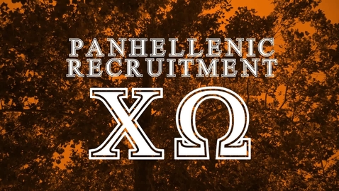 Thumbnail for entry Panhellenic House Tour - Chi Omega