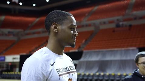 Thumbnail for entry Cowboy Basketball: Curtis Jones Addresses The Media
