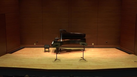 Thumbnail for entry Greenwood School of Music Senior Recital--Abraham Nuñez