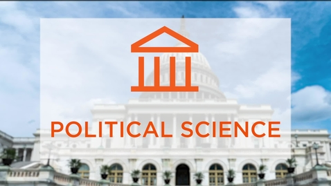 Thumbnail for entry CAS Major Profile: Political Science