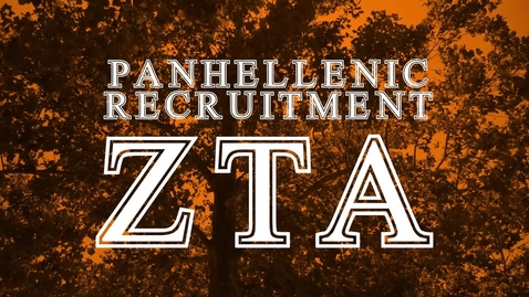 Thumbnail for entry Panhellenic House Tour: Zeta Tau Alpha