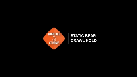 Thumbnail for entry Static Bear Crawl Hold