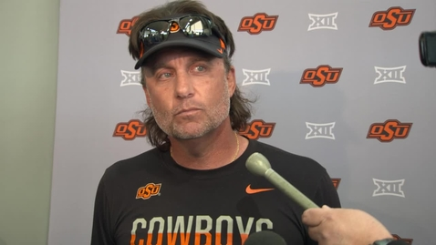 Thumbnail for entry Mike Gundy Press Conference