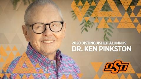 Thumbnail for entry 2020 Distinguished Alumni: Dr. Ken Pinkston