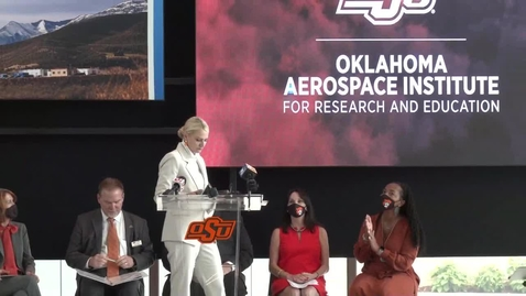 Thumbnail for entry OSU Launches the Oklahoma Aerospace Institute for Research and Education