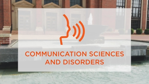 Thumbnail for entry CAS Major Profile: Communication Sciences and Disorders