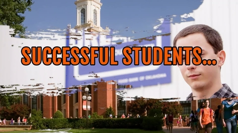 Thumbnail for entry Successful Students - Actively Support Their Community
