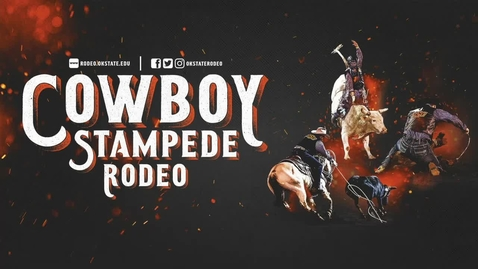 Thumbnail for entry REBROADCAST:  Cowboy Stampede Rodeo-- April 3rd Saturday Night Finals