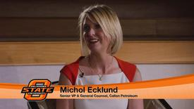 Thumbnail for entry Michol McMillian Ecklund visits OSU