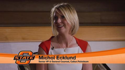 Thumbnail for entry Michol McMillian Ecklund visits OSU