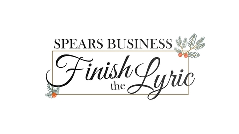 Thumbnail for entry Spears School of Business: Finish The Holiday Lyric