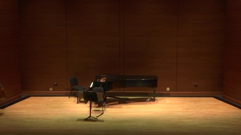 Thumbnail for entry Greenwood School of Music Student Recital- Hannah Stanley