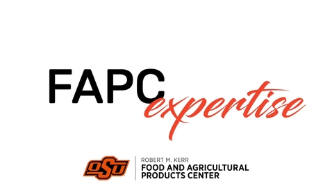 Thumbnail for entry FAPC Areas of Expertise