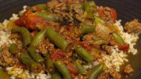 Thumbnail for entry Cooking with Barb: Green Bean and Ground Beef Stew