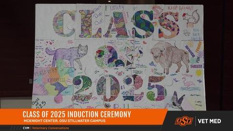 Thumbnail for entry Vet Med Welcomes Class of 2025