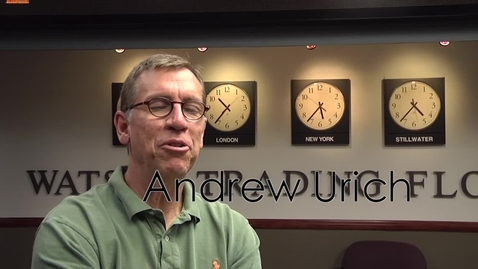 Thumbnail for entry Get to know Andy Urich in 60 seconds