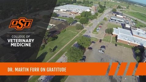 Thumbnail for entry Dr. Martin Furr on Gratitude