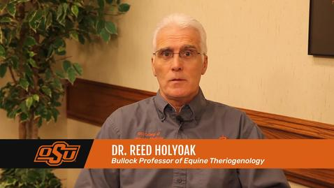 Thumbnail for entry Vet Med Faces of Research: Dr. Reed Holyoak