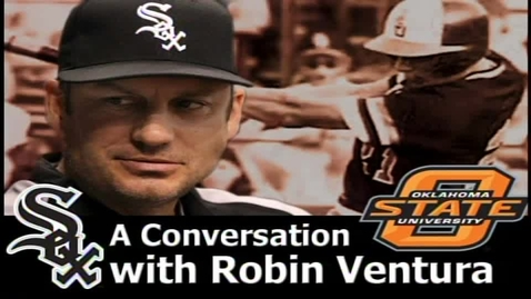 Thumbnail for entry A conversation with Robin Ventura
