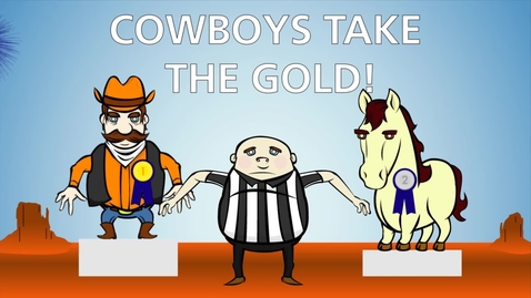 Thumbnail for entry Bedlam Battle: Cowboys take the gold