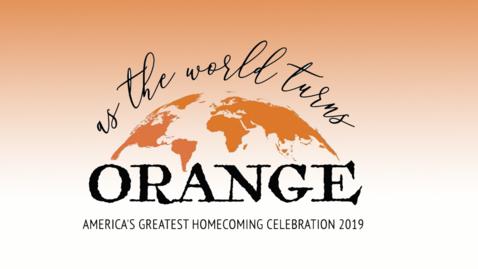 Thumbnail for entry 2019 Sea of Orange Homecoming Parade
