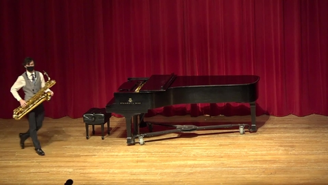 Thumbnail for entry Greenwood School of Music  Senior Recital--Matthew Howell