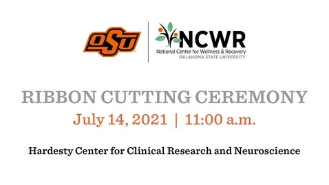 Thumbnail for entry  Ribbon Cutting Ceremony for Hardesty Center at OSU CHS