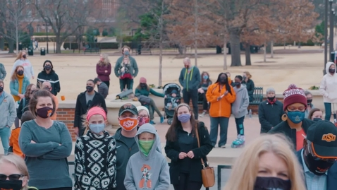 Thumbnail for entry 2021 Oklahoma State University/City of Stillwater MLK Day March