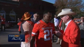 Thumbnail for entry ICYMI:  OSU President Burns Hargis Speaks with Barry Sanders