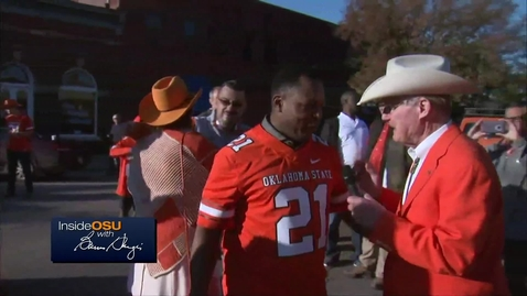 ICYMI:  OSU President Burns Hargis Speaks with Barry Sanders