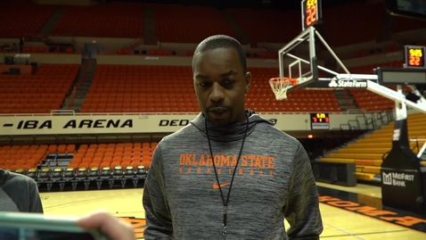 Thumbnail for entry OSU/RSU Preview: Mike Boynton Speaks to the Media