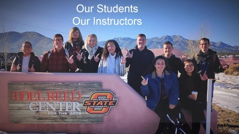 Thumbnail for entry Doel Reed Center :  A Study Abroad Experience for OSU Students