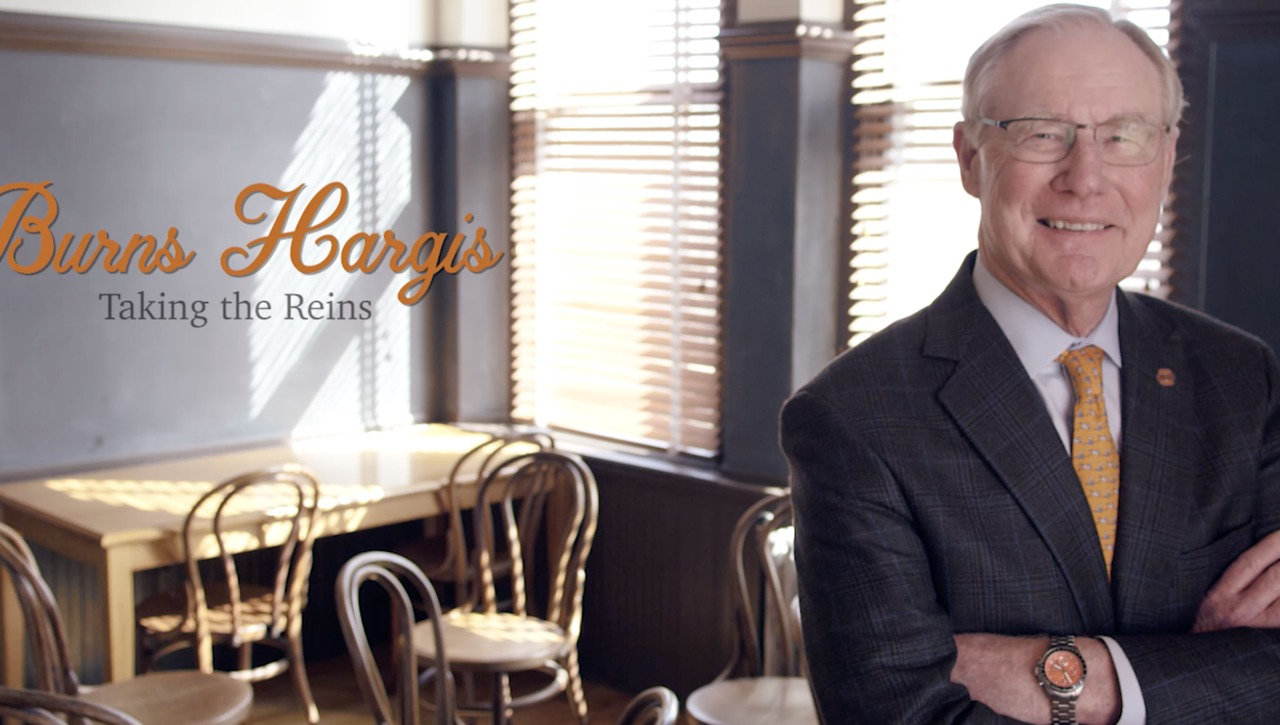 Burns Hargis:  Taking The Reigns