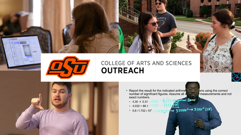 Thumbnail for entry CAS Outreach: What We Do