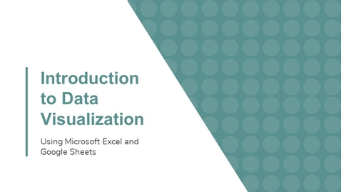 Thumbnail for entry Data and Donuts: Introduction to Data Visualization