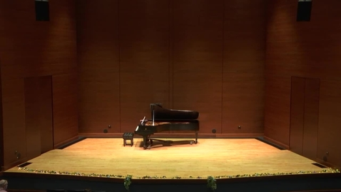 Thumbnail for entry Greenwood School of Music Senior Recital:  Jessie Showalter