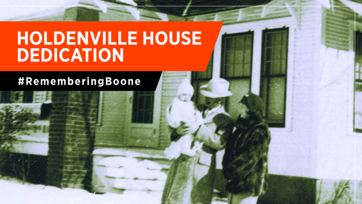 Boone Pickens' Holdenville House Dedication