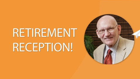 Thumbnail for entry You're Invited to Dr. Manzer's Retirement Reception!