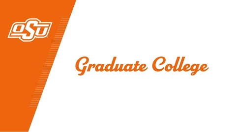 Thumbnail for entry OSU Graduate College Celebrates the Class of 2020!