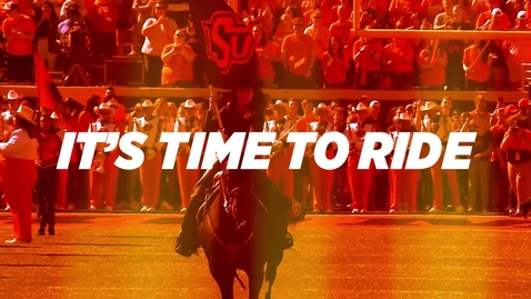 Thumbnail for entry TIME TO RIDE:  Welcome to the 2021-2022 Academic Year!
