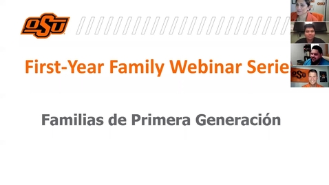 Thumbnail for entry Tools to Help Your First-Generation Student Succeed (Spanish Version))