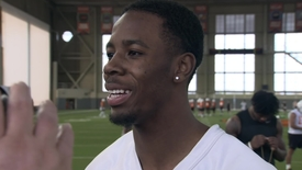 Thumbnail for entry SPRING FOOTBALL:  A.J. Green Speaks to the Media
