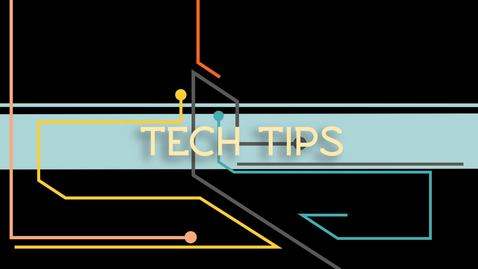 Thumbnail for entry Tech Tips: Quick Search for Files