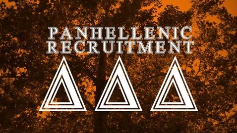 Thumbnail for entry Panhellenic House Tour: Delta Delta Delta