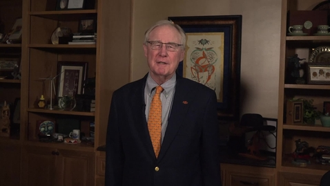 Thumbnail for entry Oklahoma State University President Burns Hargis Message To Campus
