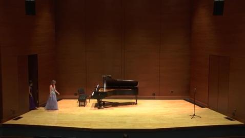 Thumbnail for entry Greenwood School of Music Senior Recital -- Emily Nelson