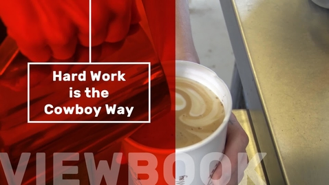 Thumbnail for entry Hard Work is the Cowboy Way