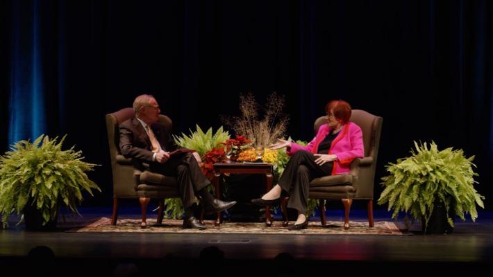 Winston Churchill's Granddaughter Speaks at OSU