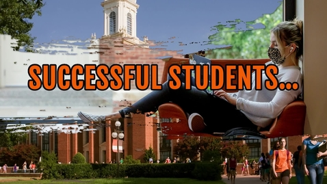 Thumbnail for entry Student Success :  Preparing for Your First Exams