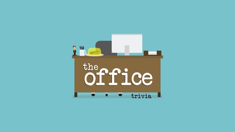 Thumbnail for entry SUAB 2020: The Office Trivia
